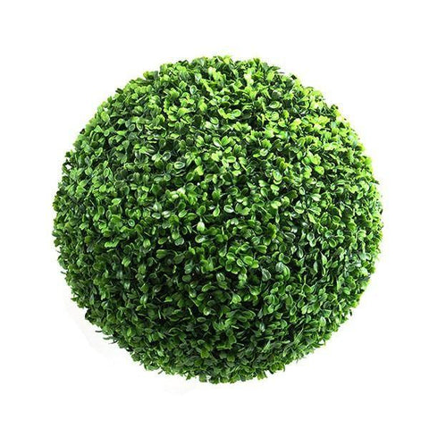 "12"" Topiary Boxwood Ball Greenery - Viva La Rosa"