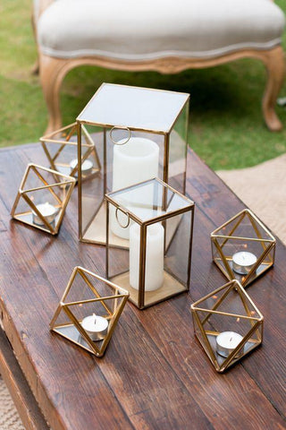 candle holder geometric candleholder