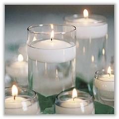 Long Lasting Big Floating Candles Wedding Decor (3/pack) - Richview Glass Wedding Supplies