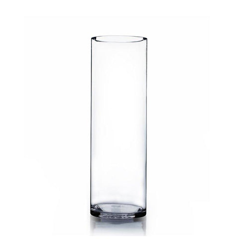 "Cylinder Vase 24""x7"" DIY Wedding Supply - Richview Glass Wedding Supplies"