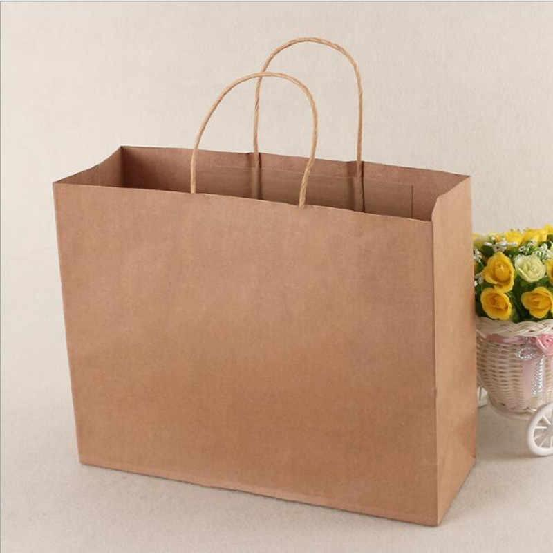 "Brown paper bag horizontal (L) 16""x6""x12""H"