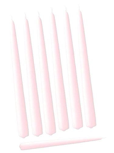 Pack of 12 Red taper Candle 10""