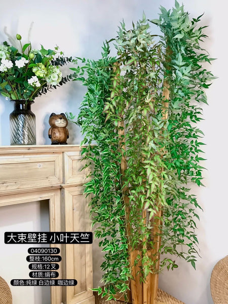 Full and long Green Garland wedding greenery 1.8m
