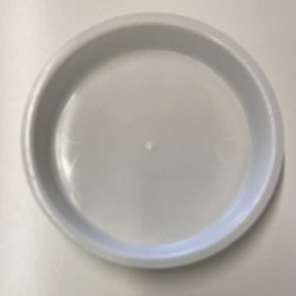"4"" Plastic DISH for Flower arrangement"