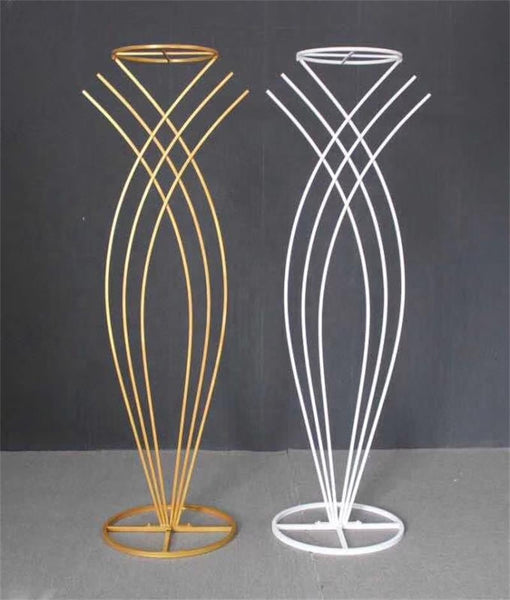 Gold Metal Backdrop Mermaid Stand 1 meter (S)