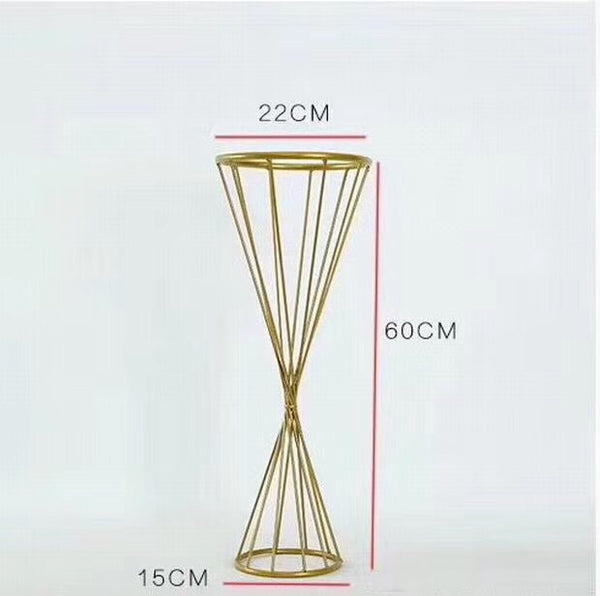 Reversible triangle stand VR0041-(Gold)-REV1 h: 24""
