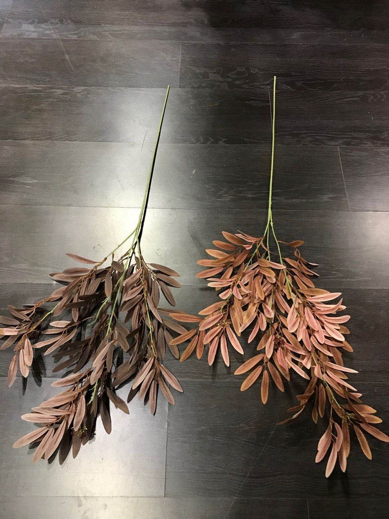 Red Artificial Date leaf greenery