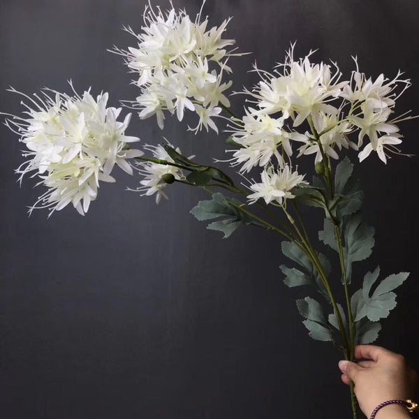 White throatwort flower Artificial Filler Flower
