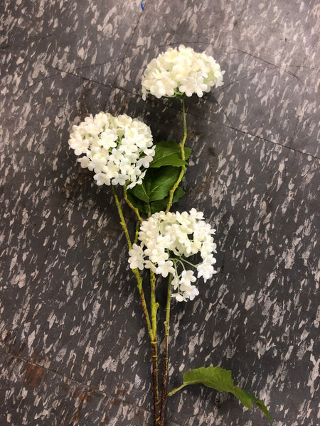 Snow ball viburnum flower filler white Artificial flowers
