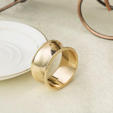 Napkin Ring decoration diameter gold