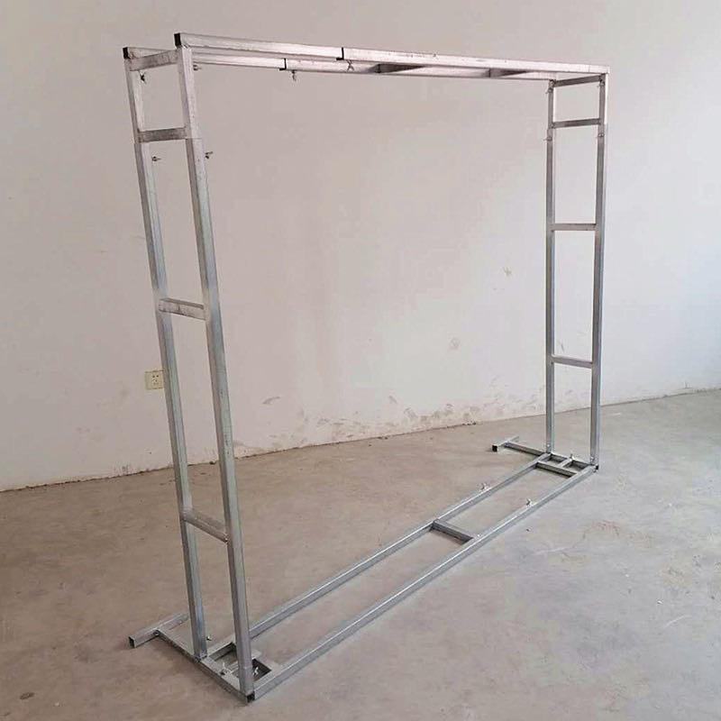 Metal Backdrop Stand Square Adjustable 5'-9' size