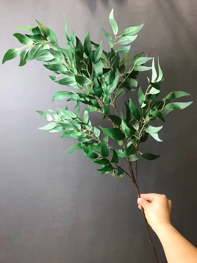 Long stem green Eucalyptus Spray greenery