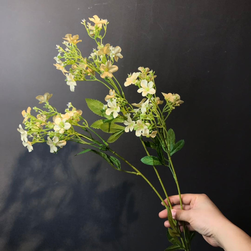Star flower filler champagne Artificial flowers