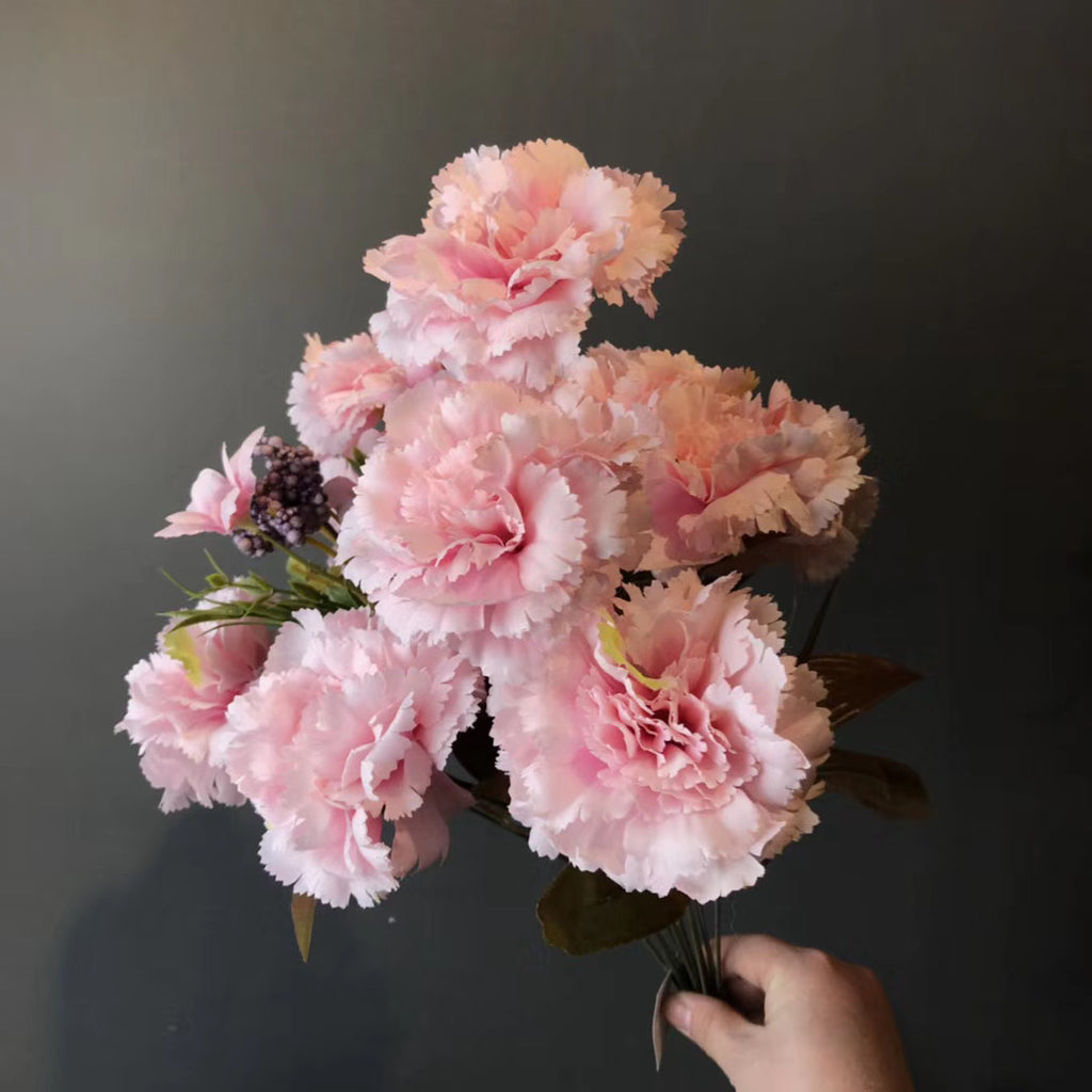 Big stem Carnation Light Pink