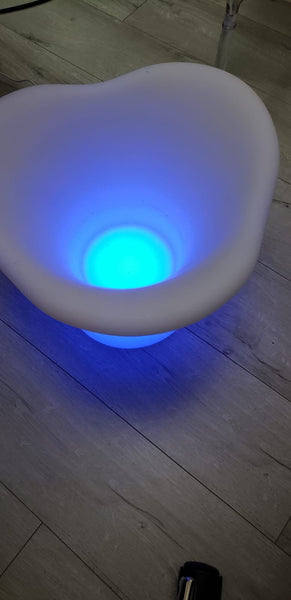 Multicolor Glowing LED LIGHT Ice bucket for drinks
