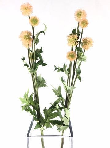 Dandelion fruit bud Artificial Flower Single Stem Blush - Viva La Rosa