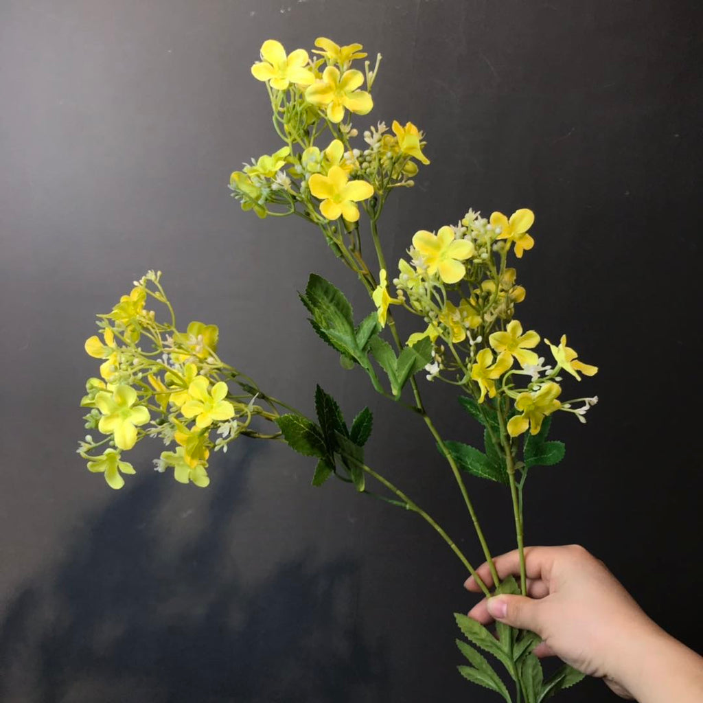 Star flower filler yellow Artificial flowers