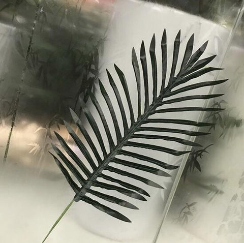 Phoenix palm green LEAF FOR WEDDING ARTIFICIAL FLOWER greenery