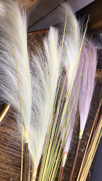 Pampas Grass Artificial Flower blush