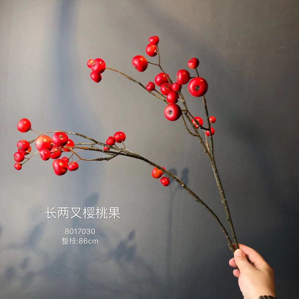 Red BERRY ARTIFICIAL FLOWER