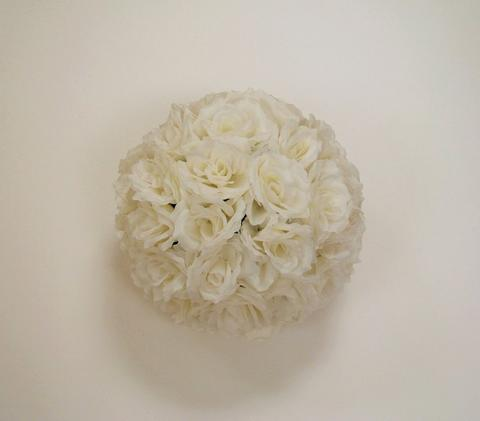 "16"" Flower Balls Rose Ball Kissing Ball - Viva La Rosa"