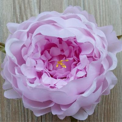 Purple Peony FLOWER ARTIFICIAL FLOWER HEAD WEDDING peonies