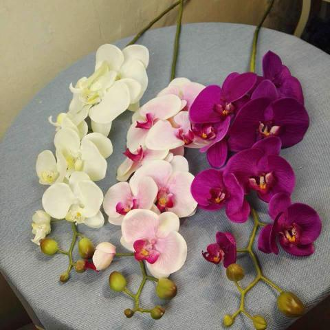 artificial flower wedding orchid