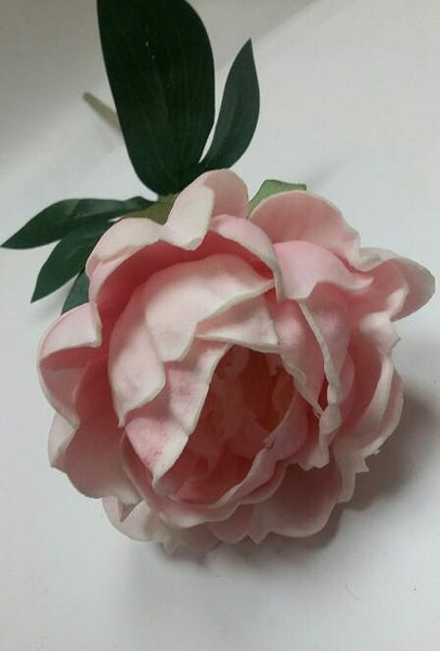 Peony Single Stem Real Touch Artificial Flower SB250
