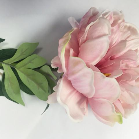 Real Touch Peonies Single Stem Artificial Flower SB020 (pink) -REA1-12