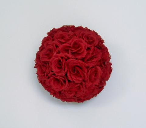 "13"" Flower Balls Rose Ball Kissing Ball - Viva La Rosa"