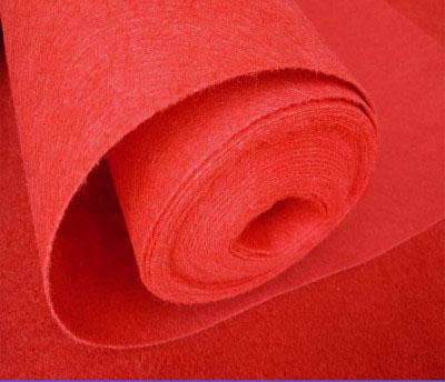 Disposable Red Carpet Fabric 1.5mx20m - Viva La Rosa