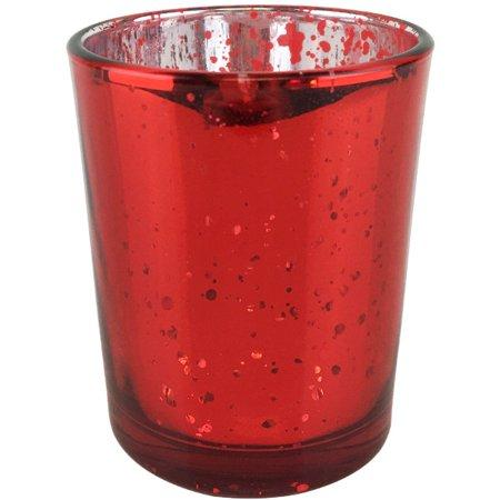 Small Candle-holder votive Red Mercury