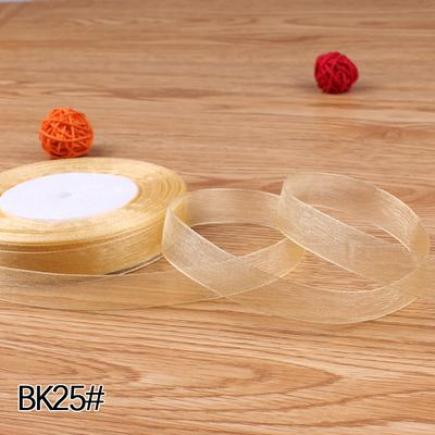 "Sheer Ribbon 5/8"" 1.5cm wide 45 meter -RIBBK25"