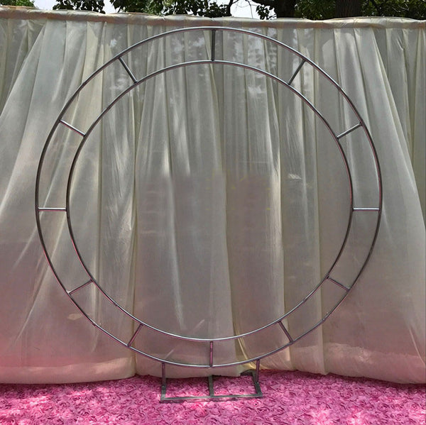 Round Circle Metal Backdrop Stand 2m/6.5feet diameter
