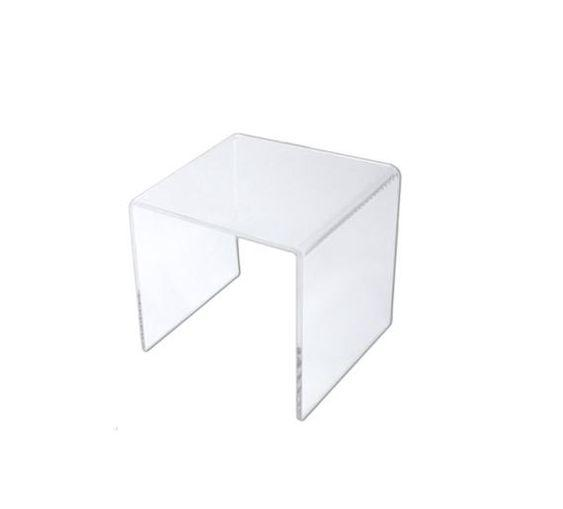 "12"" Acrylic Riser for Retail Display Cake stand Sweet Table"