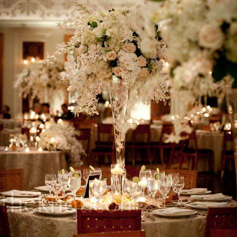 tall reversible centerpiece vase wedding