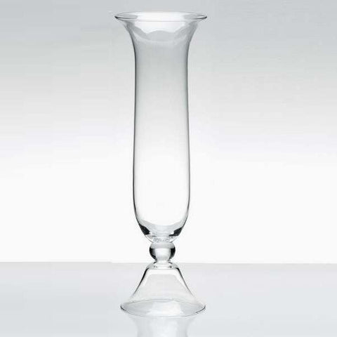 "Tall Vase 25"" Bell Reversible Vase V3954 - Richview Glass Wedding Supplies"