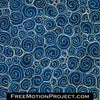 Free motion quilting Spiral Pebble