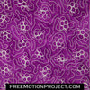 Grape Vine free motion quilting design
