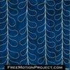 Mario Vine free motion quilting design