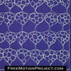 Free motion quilting honeycomb