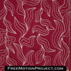 Kelp Forest free motion quilting video