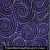 Swirling Water free motion quilting video