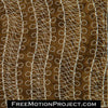 Free motion quilting Complex Path
