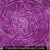 Spiral of Spirals free motion quilting tutorial