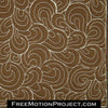 Echo Hook free motion quilting