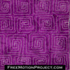 How to quilt Square Spiral video