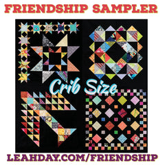 Friendship Quilt Along Block of the Month Crib Size