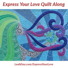 Express Your Love Goddess Quilt Along