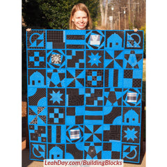 Building Blocks Beginner Quilt As You Go Quilt Along